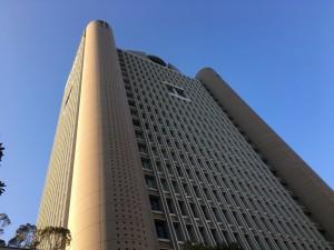 明治大学リバティタワー23Fからの眺め1