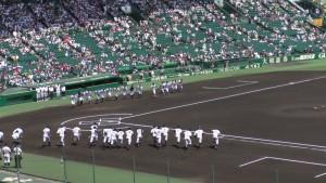 「第97回全国高校野球選手権大会」を見に行ってきました!(14)~第3日:第3試合「大阪偕星VS比叡山」(上)~(3)