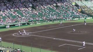 「第97回全国高校野球選手権大会」を見に行ってきました!(14)~第3日:第3試合「大阪偕星VS比叡山」(上)~
