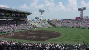 「第97回全国高校野球選手権大会」を見に行ってきました!(14)~第3日:第3試合「大阪偕星VS比叡山」(上)~(9)