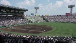 「第97回全国高校野球選手権大会」を見に行ってきました!(14)~第3日:第3試合「大阪偕星VS比叡山」(上)~(11)