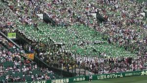 「第97回全国高校野球選手権大会」を見に行ってきました!(14)~第3日:第3試合「大阪偕星VS比叡山」(上)~(12)