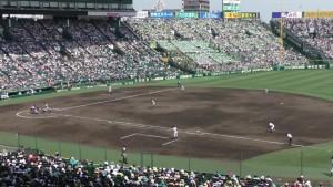 「第97回全国高校野球選手権大会」を見に行ってきました!(14)~第3日:第3試合「大阪偕星VS比叡山」(上)~(14)