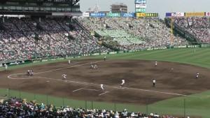 「第97回全国高校野球選手権大会」を見に行ってきました!(14)~第3日:第3試合「大阪偕星VS比叡山」(上)~(18)