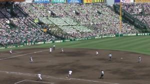 「第97回全国高校野球選手権大会」を見に行ってきました!(14)~第3日:第3試合「大阪偕星VS比叡山」(上)~(22)