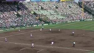 「第97回全国高校野球選手権大会」を見に行ってきました!(14)~第3日:第3試合「大阪偕星VS比叡山」(上)~(27)