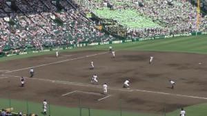 「第97回全国高校野球選手権大会」を見に行ってきました!(14)~第3日:第3試合「大阪偕星VS比叡山」(上)~(29)