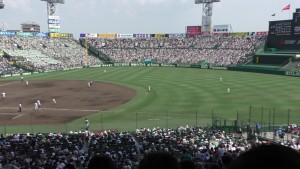 「第97回全国高校野球選手権大会」を見に行ってきました!(14)~第3日:第3試合「大阪偕星VS比叡山」(上)~(30)