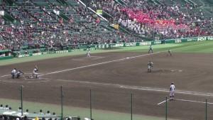 センバツ2016を見に行ったぞ!~敦賀気比 VS青森山田(下)~(31)1