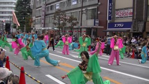 「第16回 東京よさこい」~10月11日:アゼリア通り(5)~(10)4