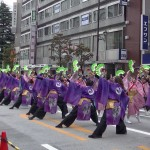 よさこいの熱気で盛り上がった! 「第16回 東京よさこい」~10月11日:アゼリア通り(1)~(6)