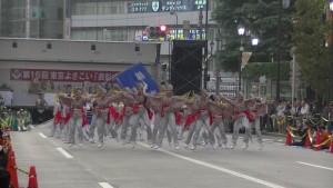 「第16回 東京よさこい」~10月11日:アゼリア通り(3)~(8)1