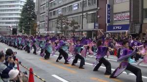 「第16回 東京よさこい」~10月11日:アゼリア通り(1)~(6)12