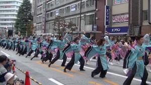 「第16回 東京よさこい」~10月11日:アゼリア通り(1)~(6)13