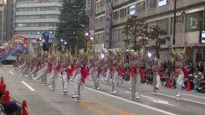 「第16回 東京よさこい」~10月11日:アゼリア通り(3)~(8)4