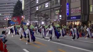 「第16回 東京よさこい」~10月11日:アゼリア通り(2)~(7)7