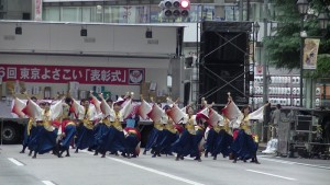「第16回 東京よさこい」~10月11日:アゼリア通り(2)~(7)8