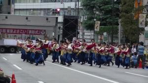 「第16回 東京よさこい」~10月11日:アゼリア通り(2)~(7)9