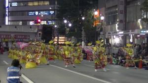 「第16回 東京よさこい」~10月11日:アゼリア通り(4)~(9)2