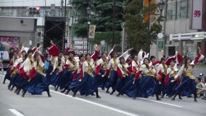 「第16回 東京よさこい」~10月11日:アゼリア通り(2)~(7)10