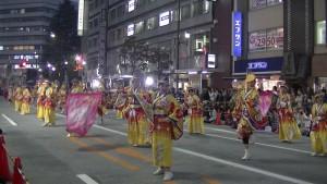 「第16回 東京よさこい」~10月11日:アゼリア通り(4)~(9)4