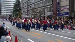 「第16回 東京よさこい」~10月11日:アゼリア通り(2)~(7)11