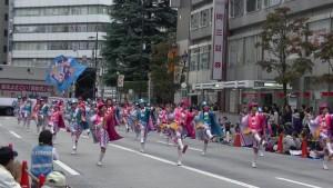 「第16回 東京よさこい」~10月11日:アゼリア通り(4)~(9)8