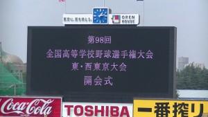 今年も始まった!? 夏の甲子園2016~東京大会の開会式~(上)13
