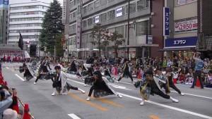 「第16回 東京よさこい」~10月11日:アゼリア通り(3)~(8)9