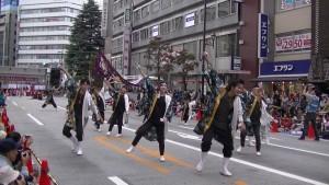 「第16回 東京よさこい」~10月11日:アゼリア通り(3)~(8)10