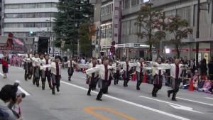 「第16回 東京よさこい」~10月11日:アゼリア通り(1)~(6)7