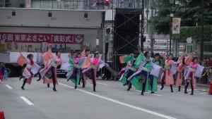 「第16回 東京よさこい」~10月11日:アゼリア通り(3)~(8)13