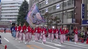 「第16回 東京よさこい」~10月11日:アゼリア通り(2)~(7)18