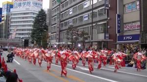 「第16回 東京よさこい」~10月11日:アゼリア通り(5)~(10)15