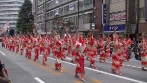 「第16回 東京よさこい」~10月11日:アゼリア通り(5)~(10)16