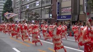 「第16回 東京よさこい」~10月11日:アゼリア通り(5)~(10)18