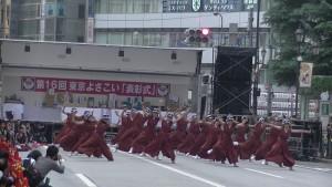 「第16回 東京よさこい」~10月11日:アゼリア通り(4)~(9)12
