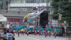 「第16回 東京よさこい」~10月11日:アゼリア通り(4)~(9)13