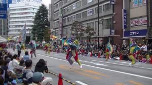 「第16回 東京よさこい」~10月11日:アゼリア通り(4)~(9)15