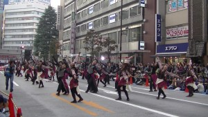 「第16回 東京よさこい」~10月11日:アゼリア通り(3)~(8)22