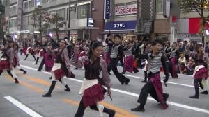「第16回 東京よさこい」~10月11日:アゼリア通り(3)~(8)23