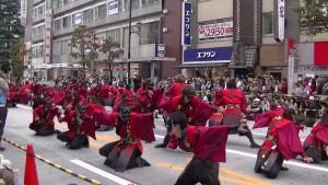 「第16回 東京よさこい」~10月11日:アゼリア通り(2)~(7)23
