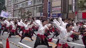 「第16回 東京よさこい」~10月11日:アゼリア通り(2)~(7)24