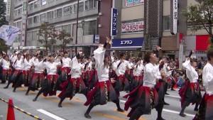 「第16回 東京よさこい」~10月11日:アゼリア通り(2)~(7)1