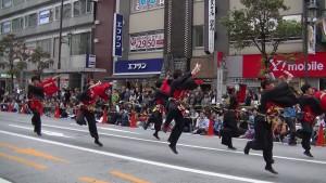 「第16回 東京よさこい」~10月11日:アゼリア通り(4)~(9)1