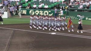 「第97回全国高校野球選手権大会」を見に行ってきました!(4)~第1日:開会式~(22)