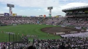 「第97回全国高校野球選手権大会」を見に行ってきました!(4)~第1日:開会式~(23)
