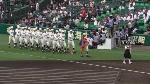 「第97回全国高校野球選手権大会」を見に行ってきました!(4)~第1日:開会式~(25)