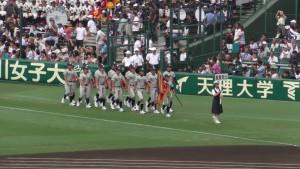 「第97回全国高校野球選手権大会」を見に行ってきました!(4)~第1日:開会式~(27)
