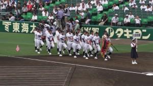 「第97回全国高校野球選手権大会」を見に行ってきました!(4)~第1日:開会式~(28)